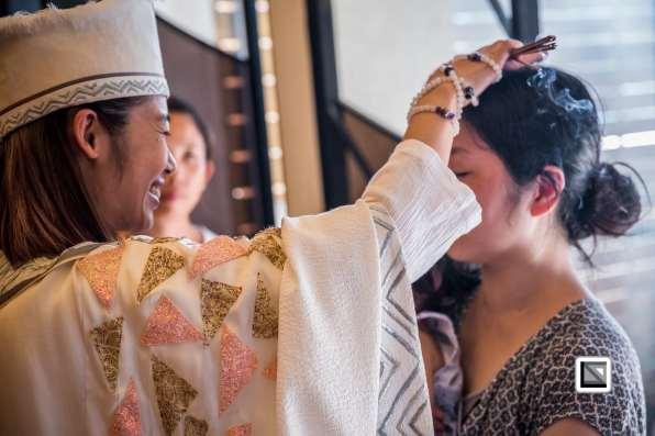 Taiwan - Taoyuan - Healing Session with spirit medium Nana Chen alias Ji Gong Shi-Fu