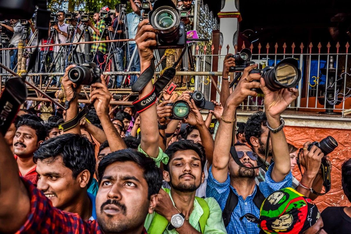 Pulikali Festival Thrissur Kerala 2015-58