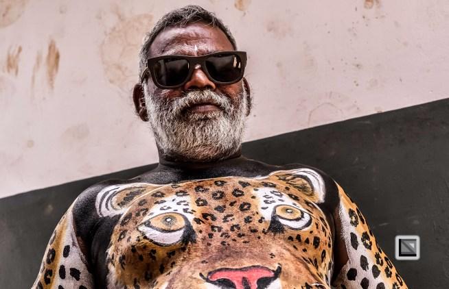India - Kerala - Thrissur - Onam Festival - Pulikali-38