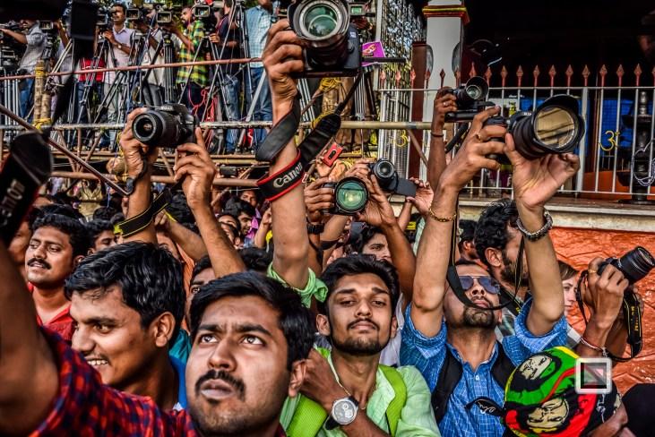 India - Kerala - Thrissur - Onam Festival - Pulikali-60