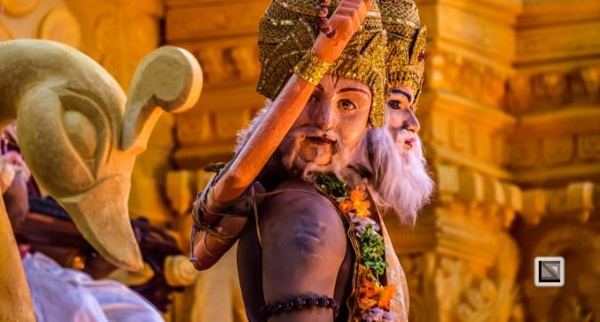 India - Kerala - Thrissur - Onam Festival - Pulikali-62