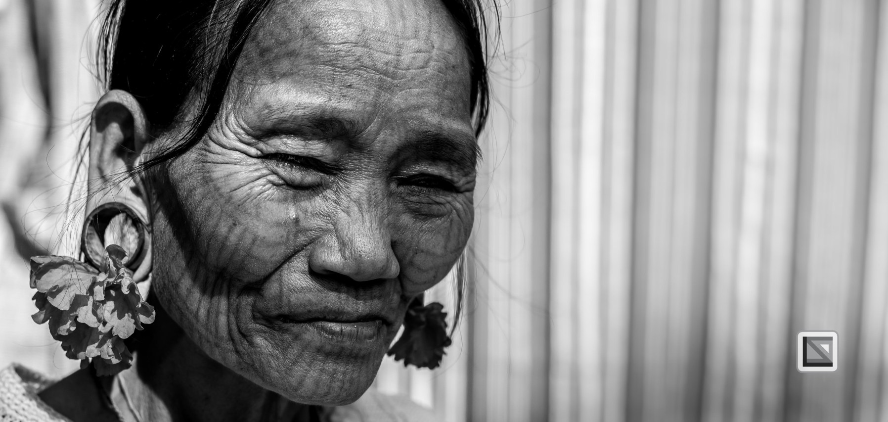 Myanmar Chin Tribe Portraits Black and White Mrauk-U-4