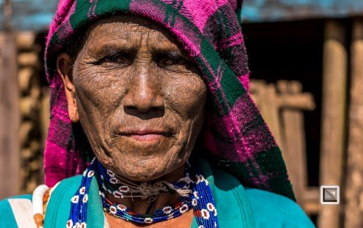 Myanmar Chin Tribe Portraits Color-37