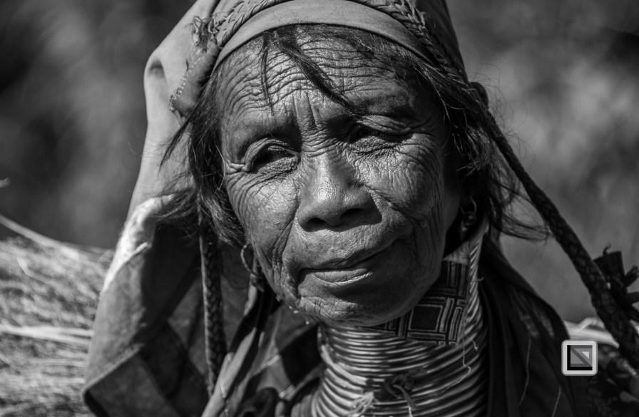 Padaung black n white portraits-66
