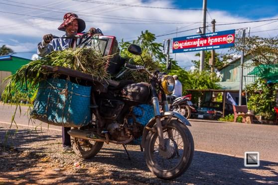 Kambodscha - Boarder