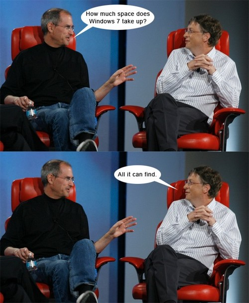 Duelul gigantilor : Apple vs Microsoft
