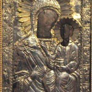 Minunile icoanei Maicii Domnului cu Pruncul fără chip