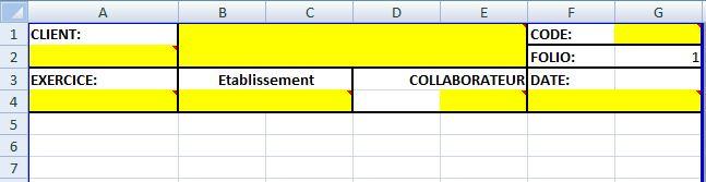 Numéroter une page dans une cellule sous Excel