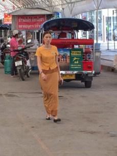 Ruas de Chiang Mai. Street in Chiang Mai