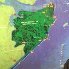 Mapa da Ilha -Photo by Claudia Grunow