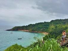 Vista do Alto das praias Azeda e Azedinha- Photo by Claudia Grunow