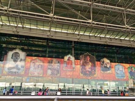 Entrada do Aeroporto - Photo by Claudia Grunow