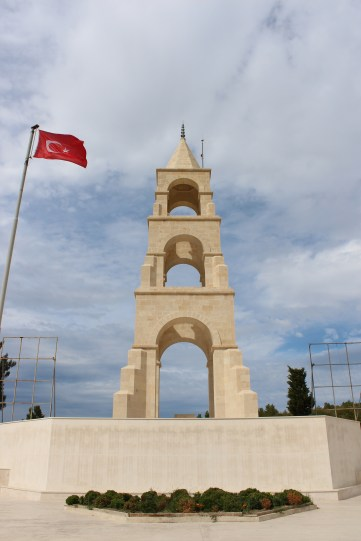 The Memorial for Turkish Soldiers - Gallipoli