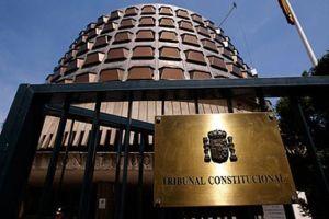 El tribunal constitucional anula parcialmente ley de contratos Aragón