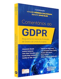 Livro Comentários ao GDPR. Regulamento Geral de Proteção de Dados da União Europeia
