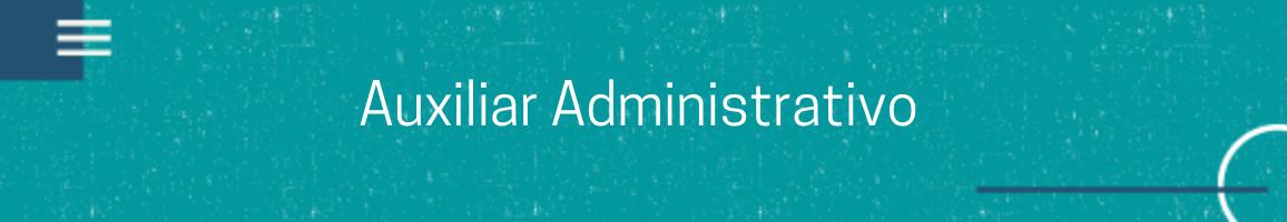 banner vaga Auxiliar Administrativo