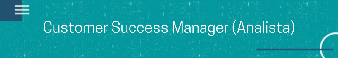 banner vaga Analista de Customer Success
