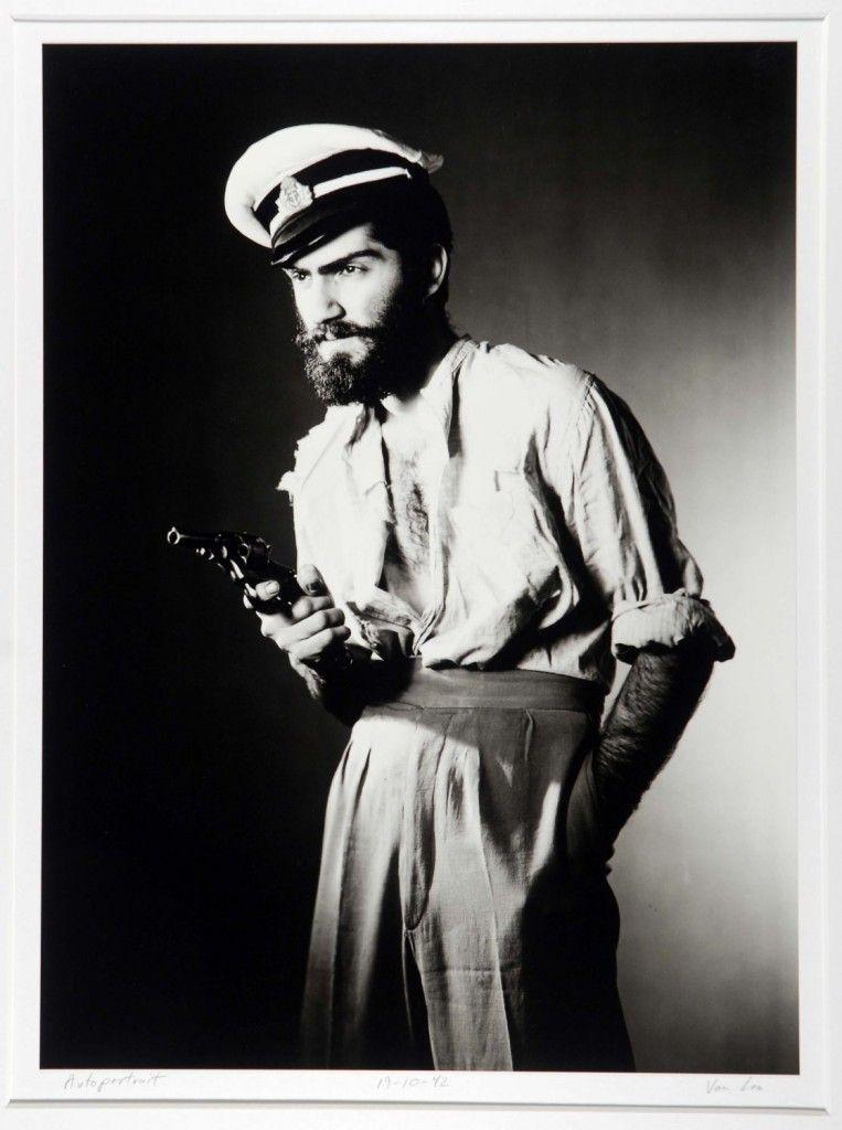 Autoportrait, 19-10-42 Photograph by Van Leo, copyright American University in Cairo