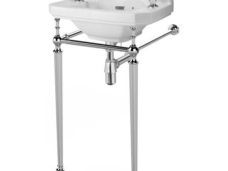 richmond 500 or 550 mm cloakroom basin on standing pipes
