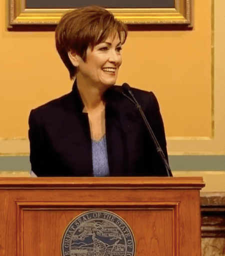 Iowa Governor Kim Reynolds