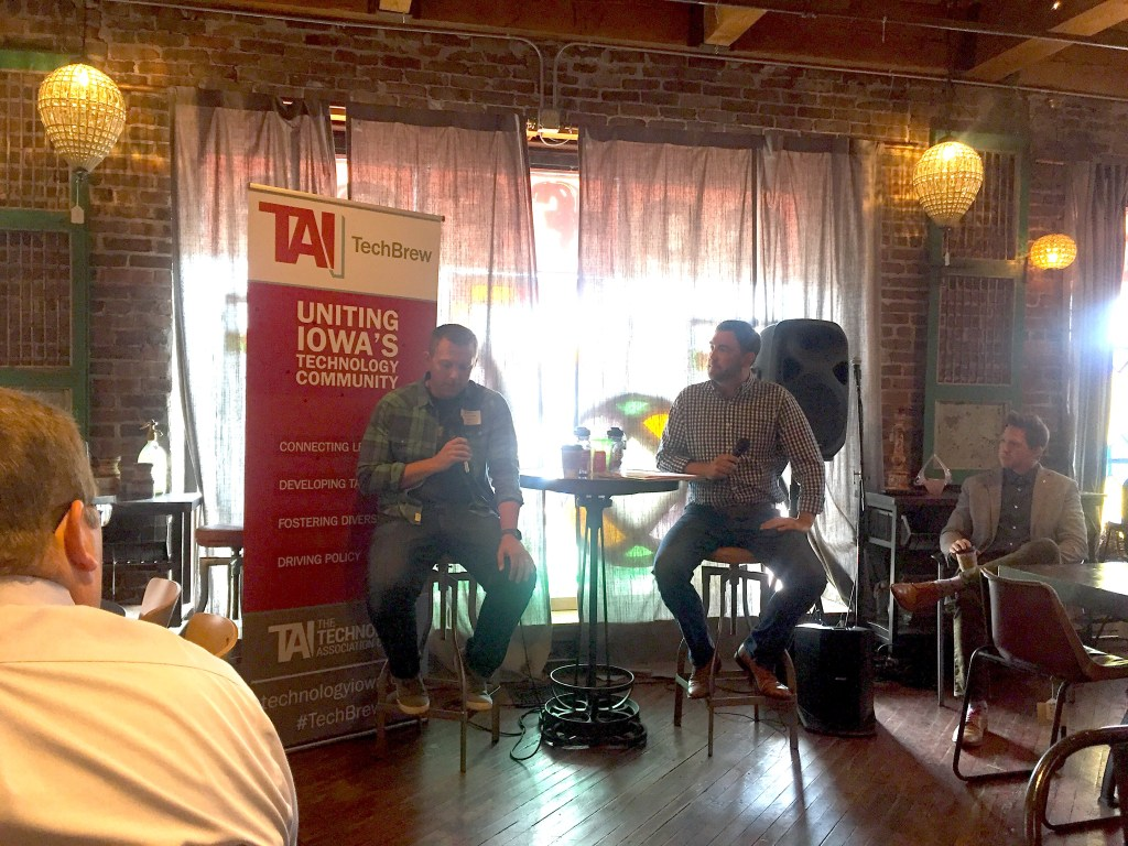 Association Of Iowa Hosts An Informal Networking Event At West End Salvage In Downtown Des Moines For Entrepreneurs Educators Technologists