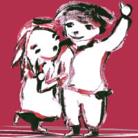 dansend koppeltje