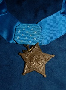 "Medal of Honor posthumously awarded to First Lt. Alexander ""Sandy"" Bonnyman, Jr."