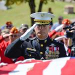 PHOTOS Burial of First Lt. Alexander Bonnyman, Jr., Knoxville, Tenn., Sept. 27, 2015