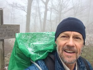 Appalachian Trail snow in the Smokys