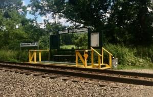 appalachian trail railroad stop