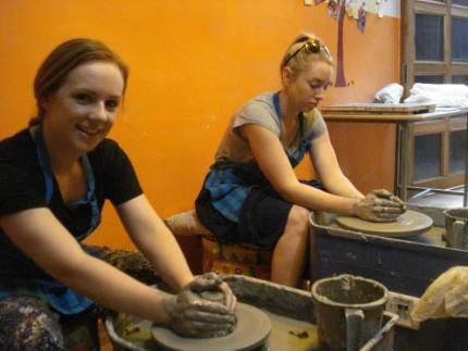Clay Botik wheel pottery workshop