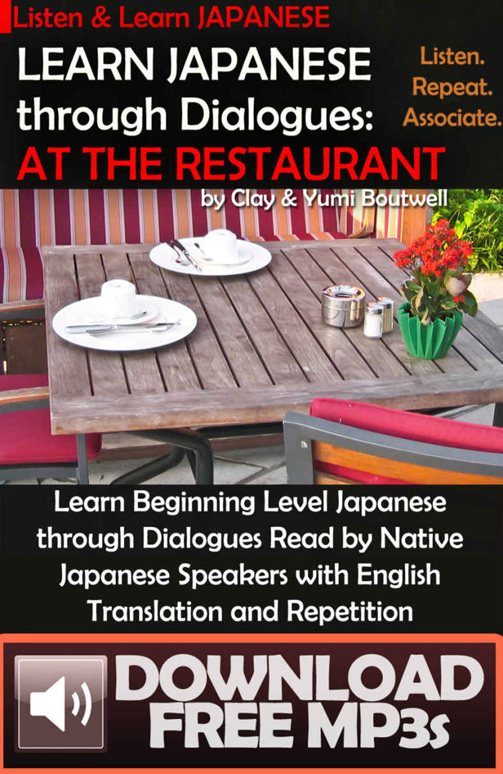 Learn Japanese through Dialogues: at the Restaurant