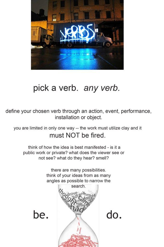 Verb Project handout
