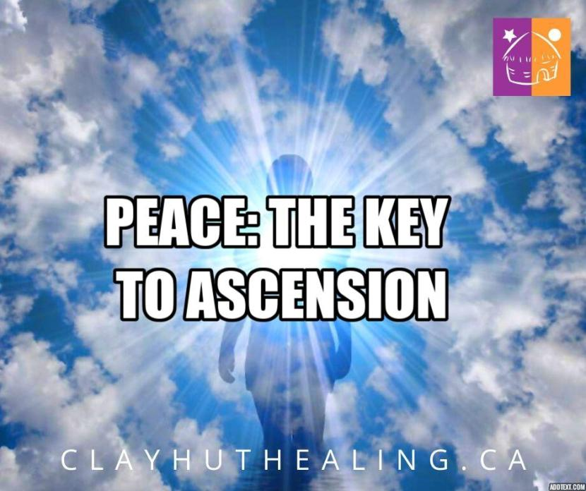 The Key to Ascension is Peace
