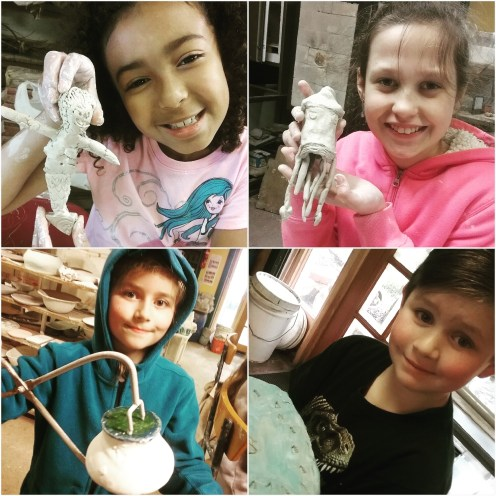 ClayMotion Children's Pottery Classes in Ballarat