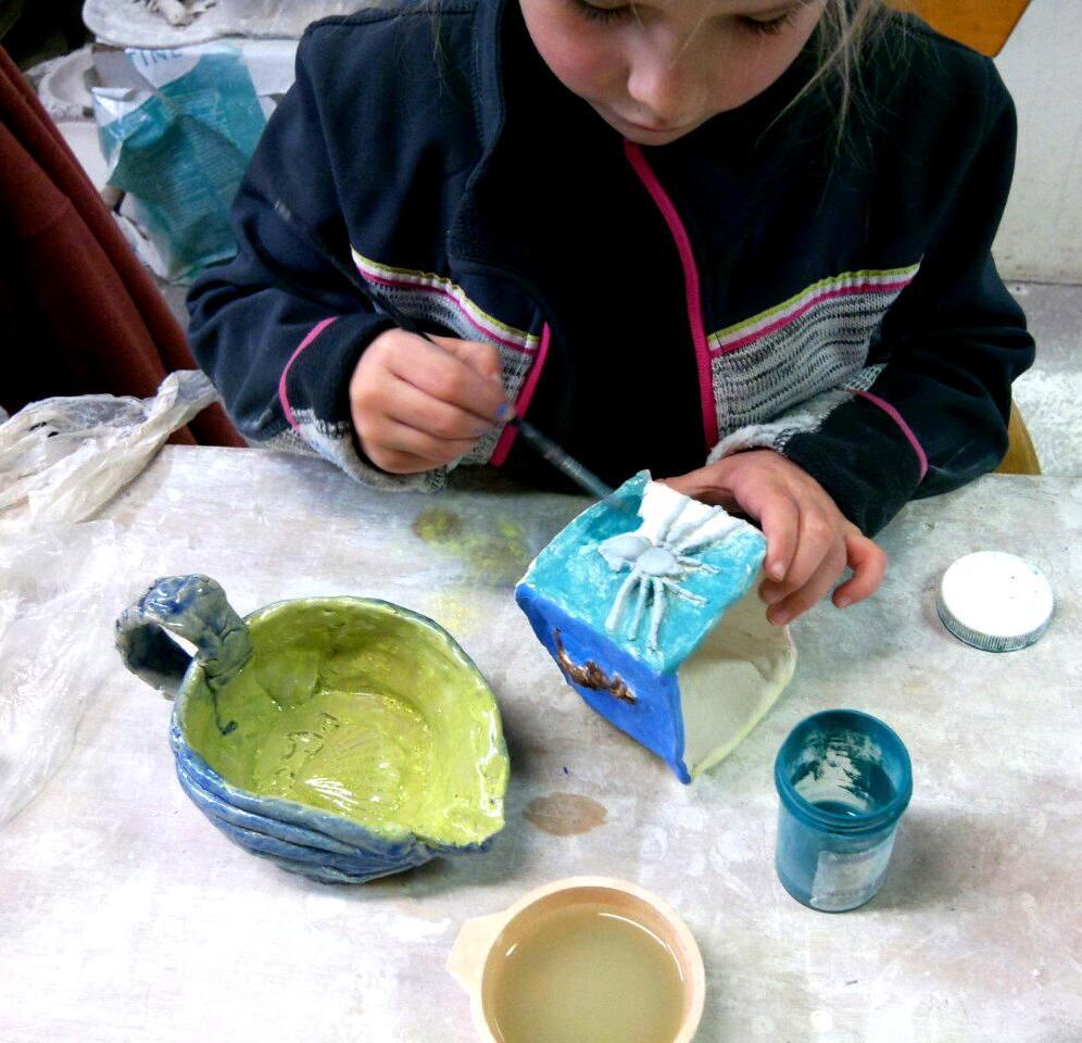 Kids Pottery ClayMotion Ballarat Victoria