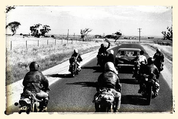 Ah!!! Les Aigles de la route!
