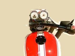 Concept de moto à poignée unique