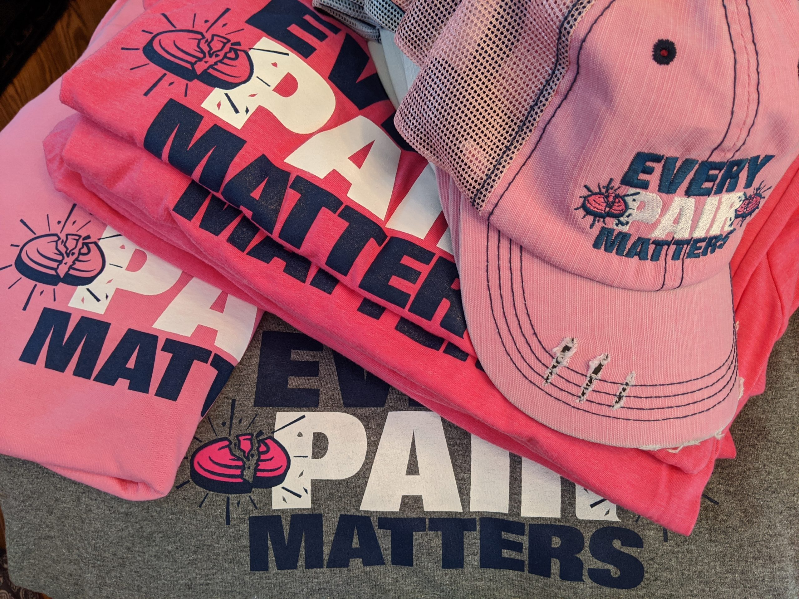 Breast Cancer Awareness T Shirts and Hats