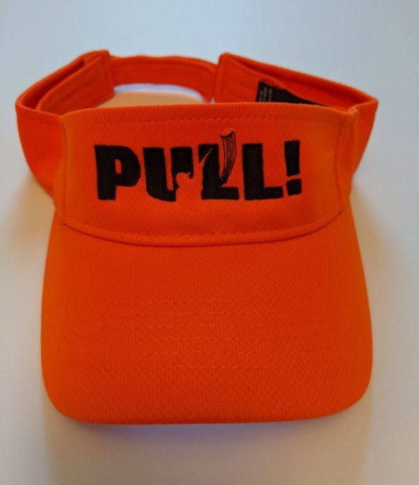 Sun Visors Hats For Clay Shooting - PULL! - Cool Shooting Hats & Caps