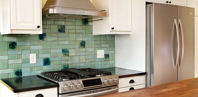 aquila pattern kitchen handmade mid