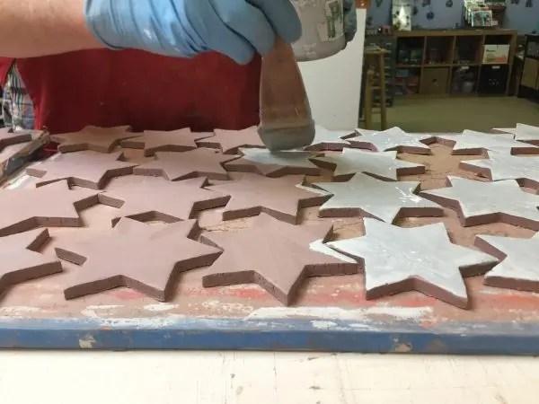 how custom handmade tile is created at