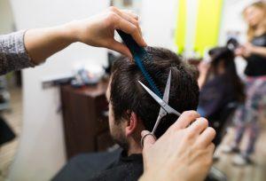mens hair cut