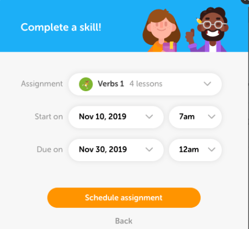 Duolingo - Skill Based Assignment