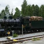 Train in Finland