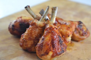 BBQ Chicken Lollipops
