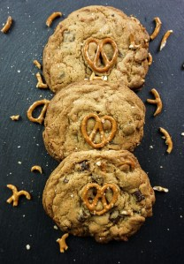 Pretzel & Chocolate Chunk Cookies