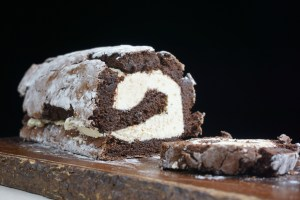 Clementine Chocolate Roulade