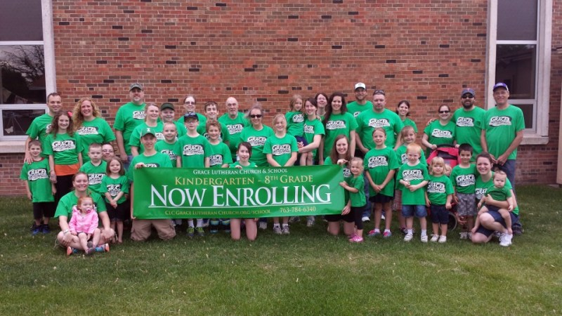 2014 Spring Lake Park Tower Days Parade Now Enrolling in Grace Lutheran School