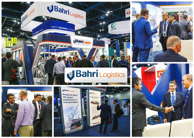 Bahri highlights growing presence in U.S. at Breakbulk Americas 2018